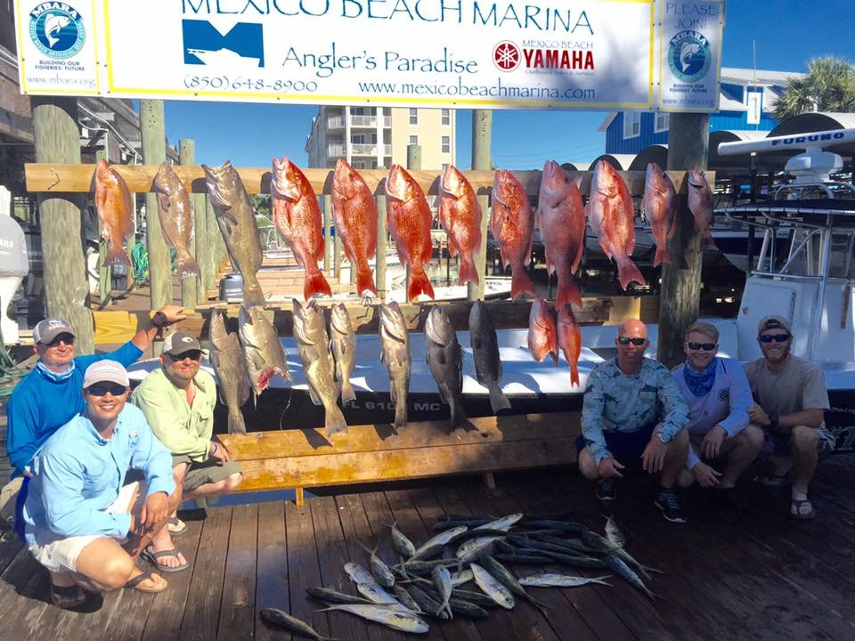 Mexico beach marina mexico beach florida mexico beach for Fishing charters mexico beach fl